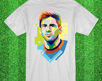 Lionel Messi Fc Barcelona & Argenine  Football t-shirt