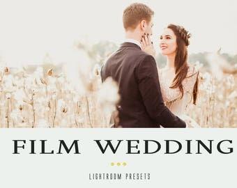 Film wedding professional lightroom presets