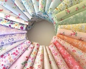 Lecien Flower Fields   Sushi Roll   Jelly Roll   Fabric Strips   Quilt Fabric   Precut   Fabric Bundle   Quilting Cotton  