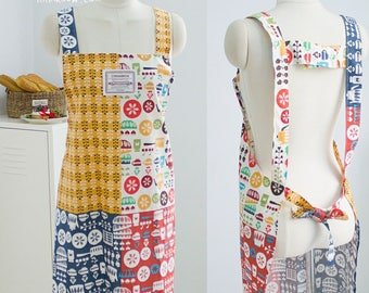 380 Cary Apron (3 Styles) PDF Pattern ONLY
