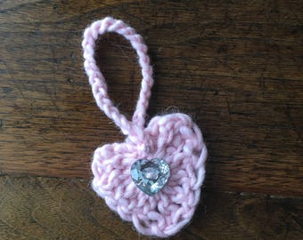 Valentines gift tag / gift decoration