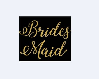 Brides Maid Wedding New Various Sizes and Colors Available