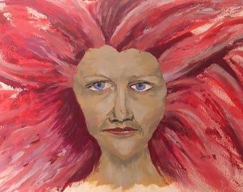 International Women's Day - Original Acrylic Painting Prints