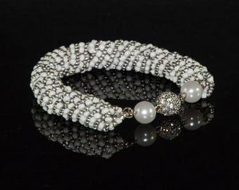 Modern elegant bracelet