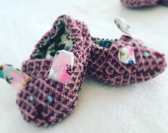 Little Foxtons Upcycled Baby Booties