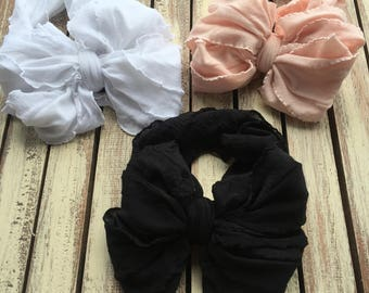 Messy bow headband lot