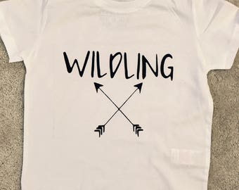 Game of thrones inspired wildlings top