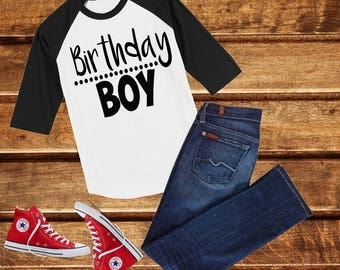 Boys Birthday top, Birthday shirt, Birthday Boy Shirt,