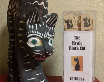 Mystic Black Cat Fortunes-on-a-Stick, Fortune-Teller, Game