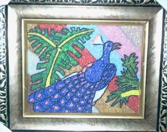 Bead Mosaic Wall Art
