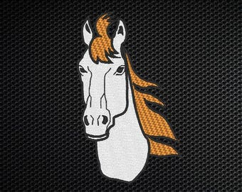 Horse Head Embroidery Design - 4x4 & 5x7 Inches Instant Download!