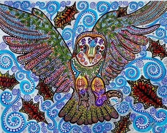Barn Owl-16X20 giclee