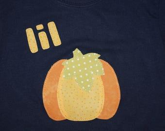 Boy Lil Pumpkin Shirt