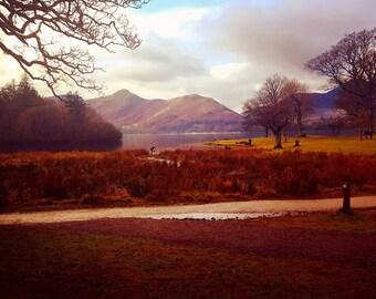 Autumn at Lake Derwent Water