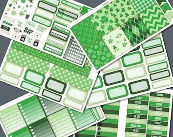 Horizontal - Green Irish