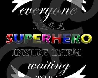 Superhero Poster JPG
