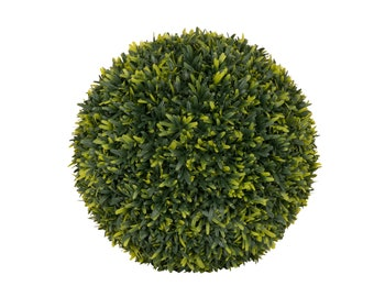 Artificial Herbaceous Topiary Ball Green Sphere - W 27 cm / D 27 cm / H 27 cm