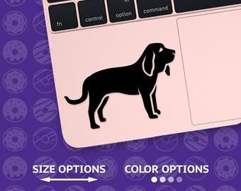 bloodhound, bloodhound decal, bloodhound sticker, bloodhound vinyl, dog decal, bloodhound dog, dog decals, bloodhound laptop, bloodhound car