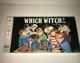 1970 Milton Bradley Which Witch? Game
