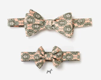 "Bow tie and collar in the partner look set ""DIRK"""