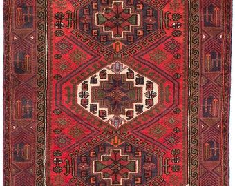 vintage persian rug vintage tribal persian rug handknotted koliai red wool rug