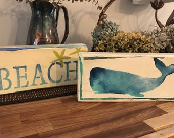 Driftwood art - Whale
