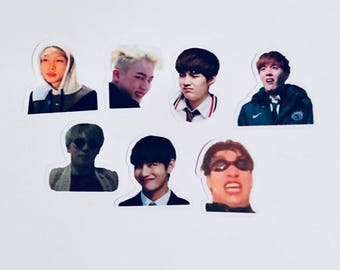 BTS 'Derp' Stickers