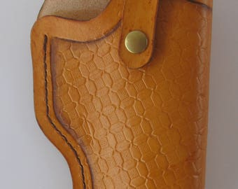 leather Holster/Straight draw holster/Western Holster/