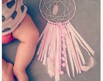 DreamCatcher in shades of pink