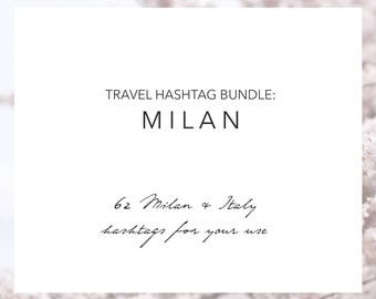 Milan Italy Hashtags | Instagram Travel Hashtags | Instagram Followers | Travel Blogger | Hashtag Research | Grow Your Instagram