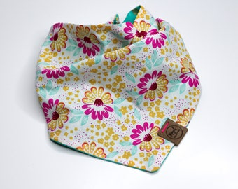 Strawberry Dreams: Reversible Dog Bandana