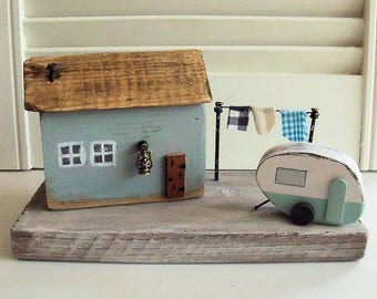Handmade wooden cottage