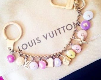 Authentic Louis Vuitton Jewel,chain key,LouisVuitton bag charm,LV Bracelet,Lvbag,Original Louis Vuitton,Alma bag,Louis vuitton jewel likenew