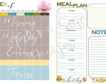The Original - Planner 1.0, 12 month, undated planner