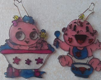 These baby earrings