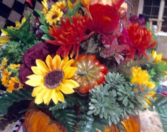 Fall CenterPiece  50% off your cost 32.50