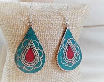 Ethnic earrings