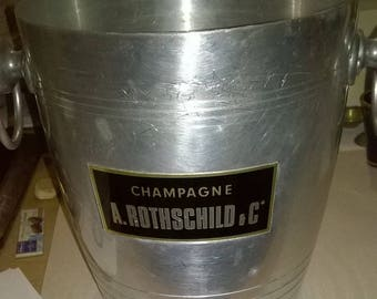 265) Champagne bucket Rothschild.