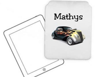 Cover for tablet pc car personalized with name