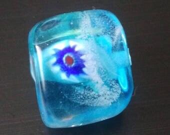 Aqua bead - rounded square shape