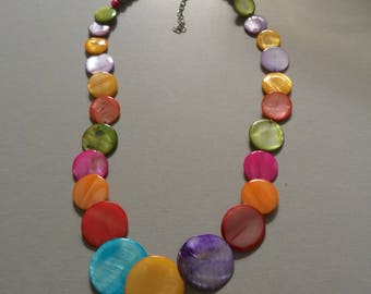 NECKLACE BEADS FLAT