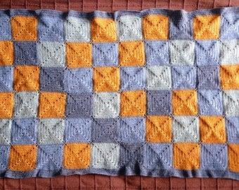 Plaid / baby blanket for pram, crib, bassinet, crib