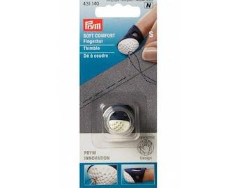 Thimble ergonomic (S) silicone Prym