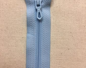 Closure zipper 20 cm Blue azure not separable ZIPPER PRESTIL