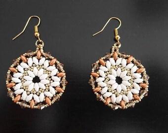 Pair of earrings spirit mandala