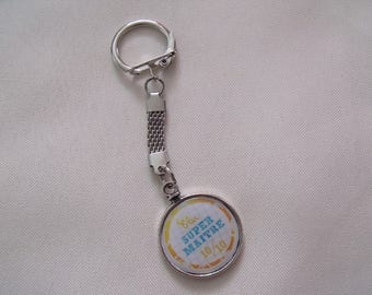 Clearance Keychain silver elected super master