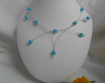 PERLICA necklace with turquoise beads