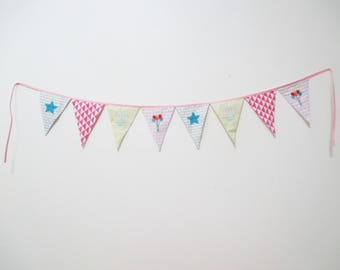 """little heart"" - doodads from Princess and Pirates flags Garland"