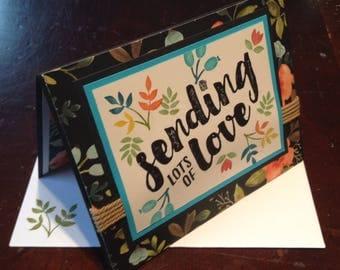 Stampin' Up Sending Lots of Love Greeting Card