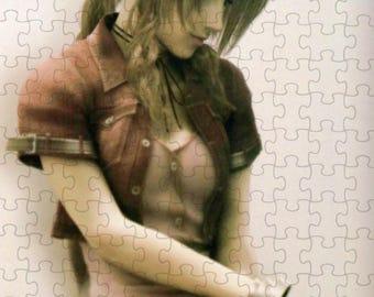 Final Fantasy VII 7 Advent Children Aerith A4 Puzzle - 120 Pieces